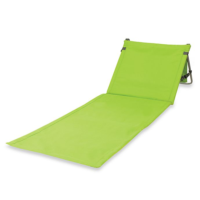 Alternate image 1 for Picnic Time® Beachcomber Portable Beach Mat in Lime