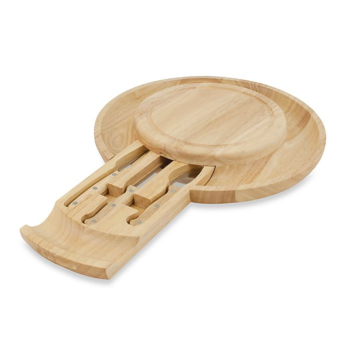 Alternate image 1 for Picnic Time® The Colby Cheese Board/Serving Set