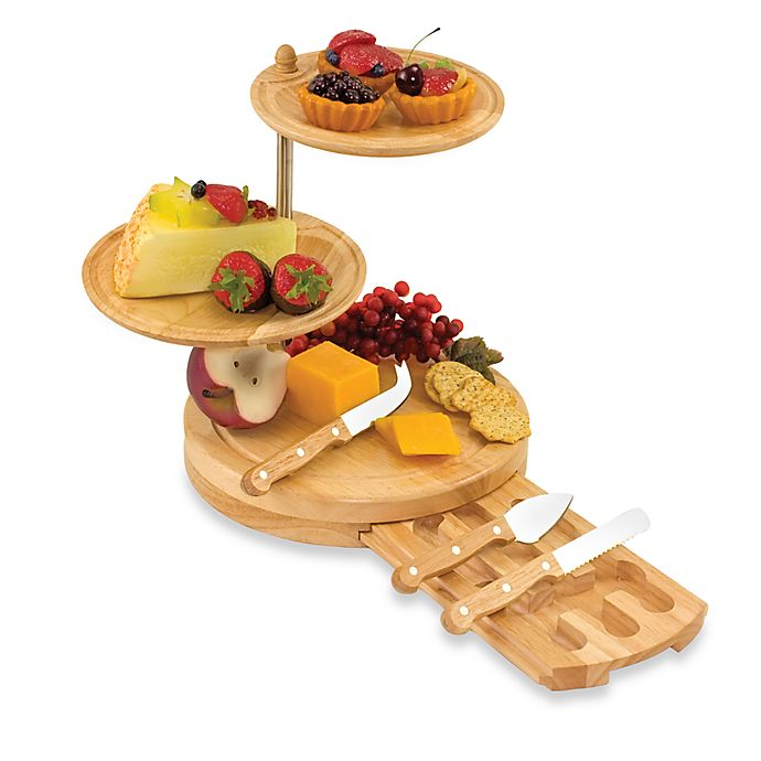 Alternate image 1 for Picnic Time® Regalio Cheese Board/Serving Tray