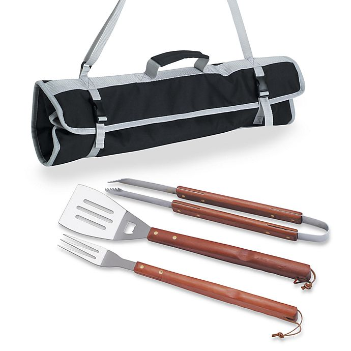 Alternate image 1 for Picnic Time® 3-Piece BBQ Tool Tote