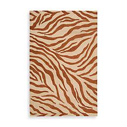 Nourison Ivory Zebra Rug