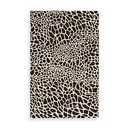 Nourison Skyland Giraffe Rug in Brown/Ivory