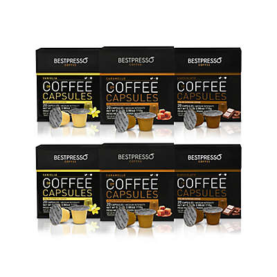 Bestpresso 120-Count Flavor Variety Pack Espresso Capsules