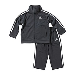 adidas® 2-Piece Tricot Tracksuit Set in Grey