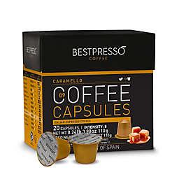 Bestpresso 40-Count Caramello Espresso Capsules