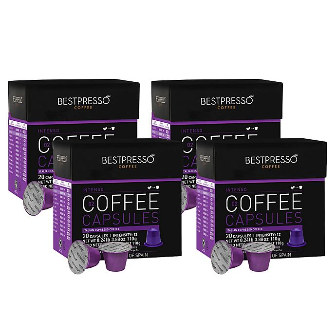 Alternate image 1 for Bestpresso 80-Count Intenso Espresso Capsules