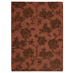 Nourison Skyland Rust and Brown Rug