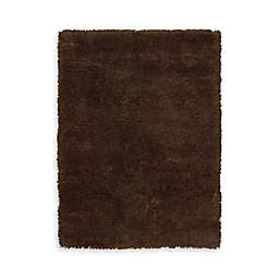 Nourison Splendor Rug in Chocolate