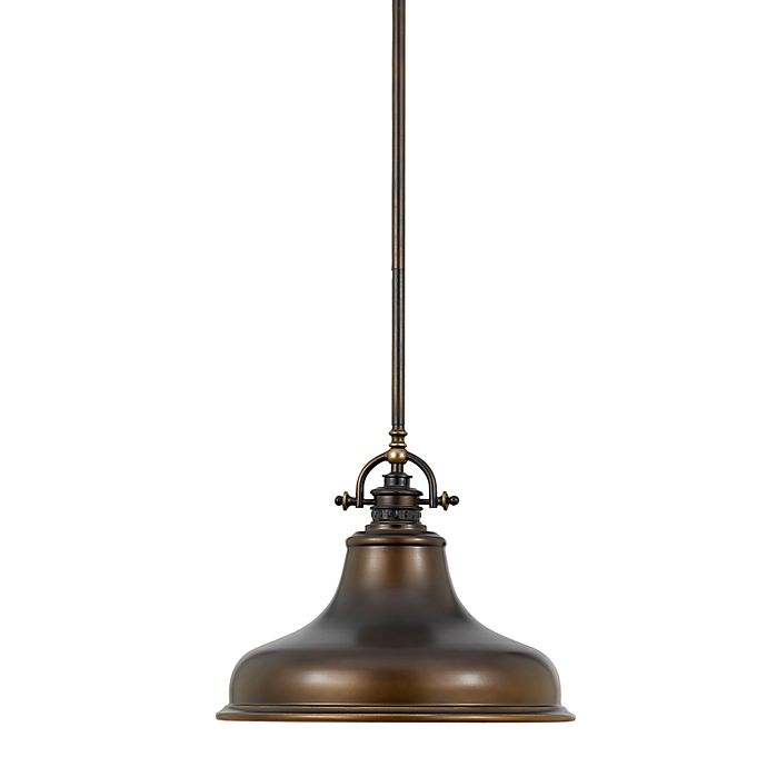 Alternate image 1 for Quoizel® Emery Ceiling-Mount Pendant in Bronze
