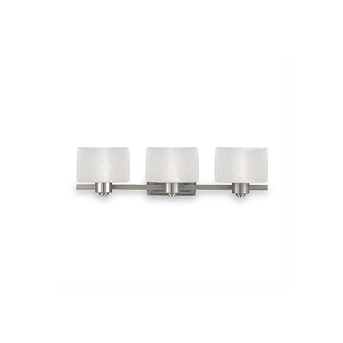 Alternate image 1 for Quoizel® Pacifica 3-Light Bath Fixture in Empire Silver