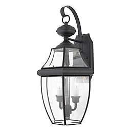 Quoizel®  Newbury Large Wall Lantern in Mystic Black