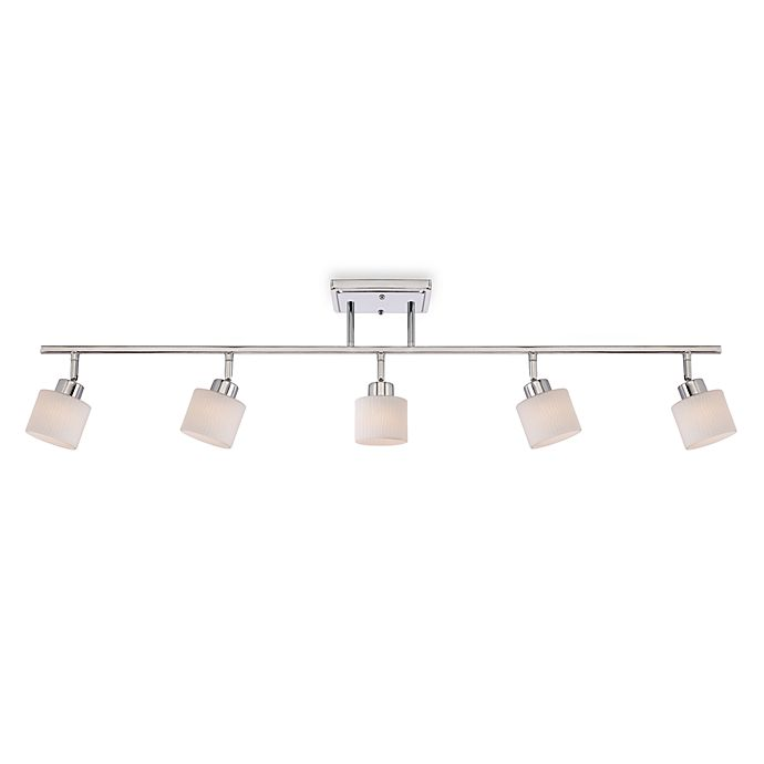 Alternate image 1 for Quoizel® Pacifica 5-Light Bath Fixture in Empire Silver