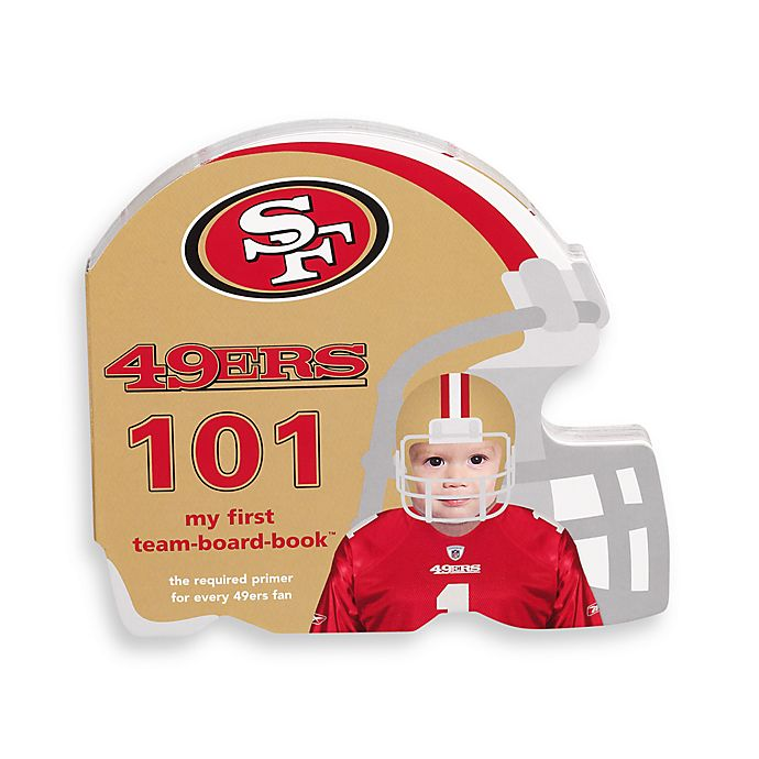 Alternate image 1 for NFL San Francisco 49ers 101 Children's Board Book