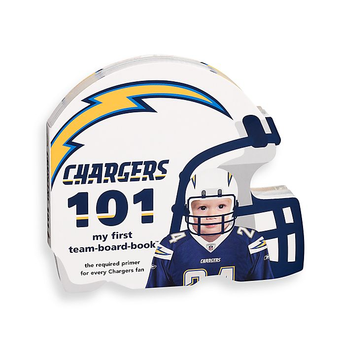 Alternate image 1 for NFL San Diego Chargers 101 Children's Board Book