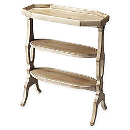 Butler Specialty Company Hadley 3-Tiered Accent Table with Natural Grey Finish