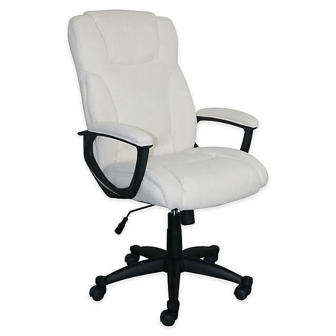 Serta Hannah Ii Microfiber Upholstered Office Chair Bed Bath Beyond