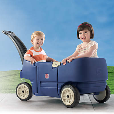 Step2® Blue Wagon Plus