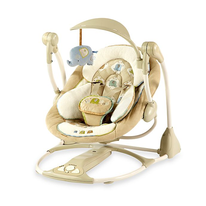 Bright Starts Ingenuity Smart Quiet Portable Swing Buybuy Baby
