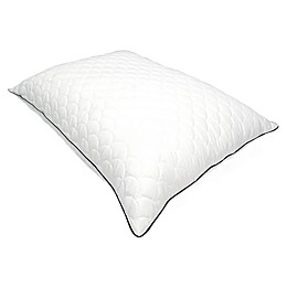 Nikki Chu Scallop Quilted Pillow in White