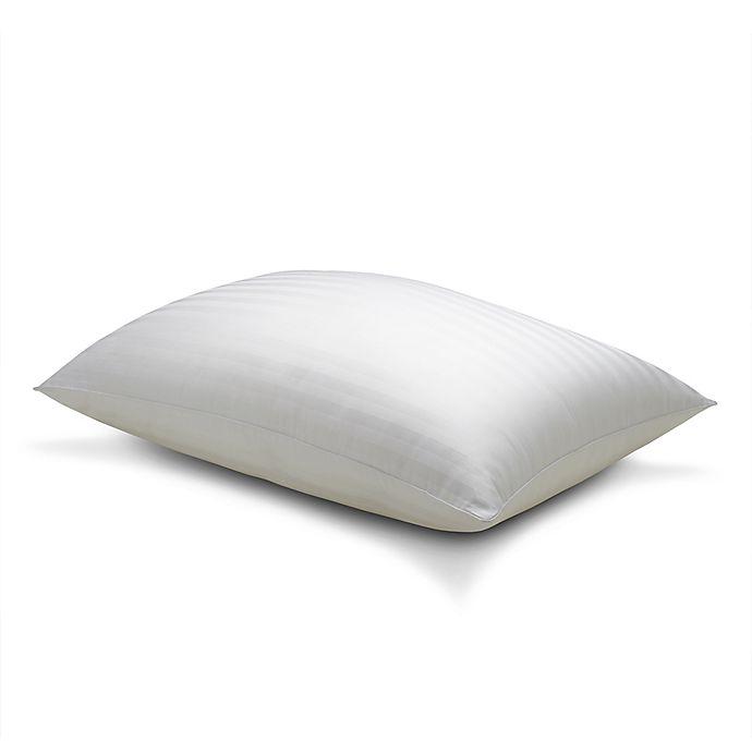 Alternate image 1 for Therapedic® Won't Go Flat® King Back Sleeper Pillow
