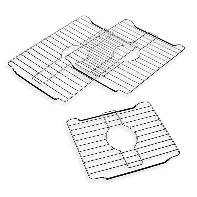 Stainless Steel Sink Protector Rack Bed Bath Amp Beyond