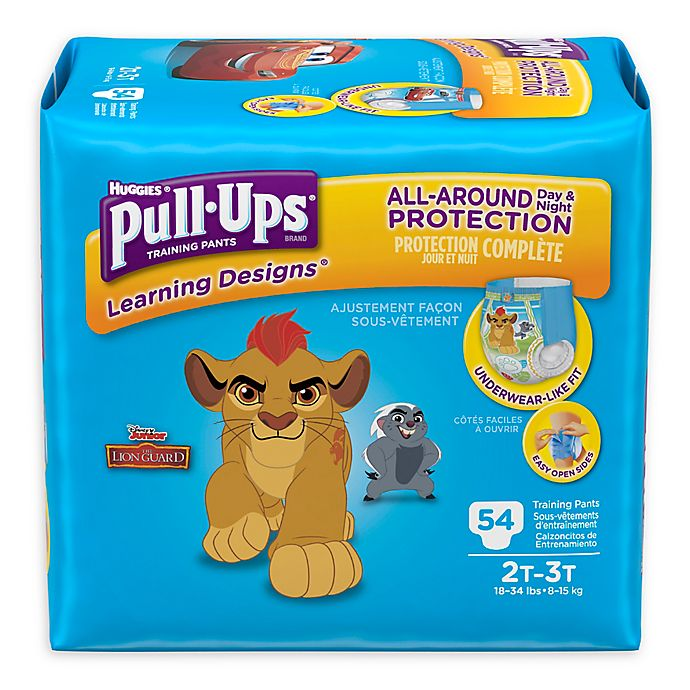 Alternate image 1 for Huggies® Pull-Ups® Learning Designs® Size 2T-3T 54-Count Disposable Training Pants