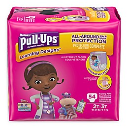 Pull-Ups® Learning Designs® 54-Count Disposable Girl's 2T-3T Training Pants
