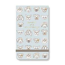 Fringe Studio™ Doodle Dog Notepad in Blue