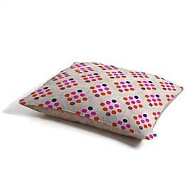 Deny Designs Holli Zollinger Diamond Weave Pet Bed in Pink