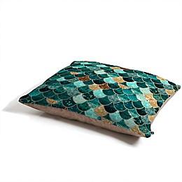 Deny Designs Monika Strigel Really Mermaid Pet Bed in Turquoise