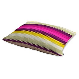Deny Designs Holli Zollinger Fusion Bright Stripe Pet Bed in Pink
