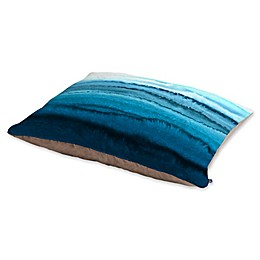 Deny Designs Monika Strigel Within the Tides Calypso Pet Bed in Blue/Green