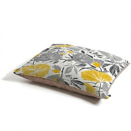 Deny Designs Khristian A Howell Bryant Park Pet Bed in Grey/Yellow