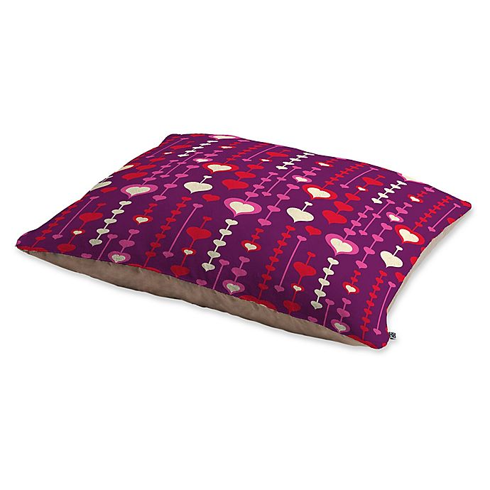 Alternate image 1 for Deny Designs Heather Dutton Falling in Love Pet Bed in Purple