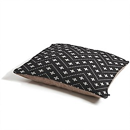 Deny Designs Holli Zollinger Dash and Plus Pet Bed in Black