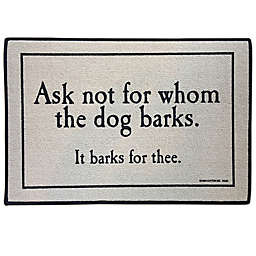 For Whom the Dog Barks 18\