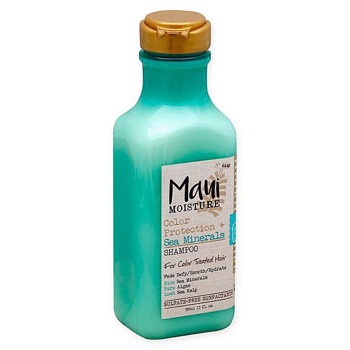 Alternate image 1 for Maui Moisture Color Protection + Sea Minerals Shampoo