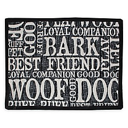 "Park B. Smith ""Woof Words"" Pet Placemat"