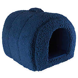 Precious Tails Sherpa Igloo Pet Bed