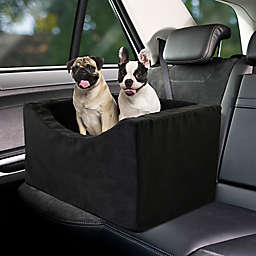 Double Wide High Density Foam Pet Booster Car Seat