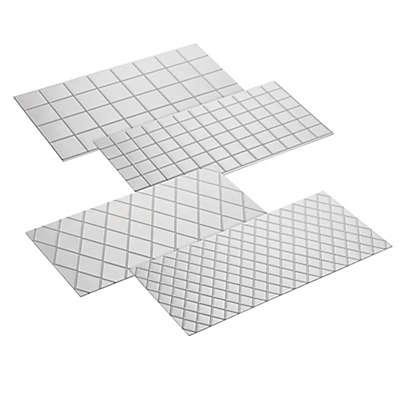 CakeBoss™ Decorating 4-Piece Quilted Fondant Imprint Mat Set