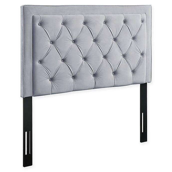 Alternate image 1 for TOV Furniture Nacht Velvet Headboard