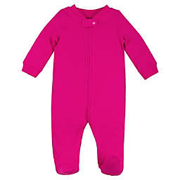 Lamaze® Newborn Organic Cotton Thermal Footie in Pink