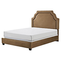 Crosley Furniture Loren Linen Upholstered Bed
