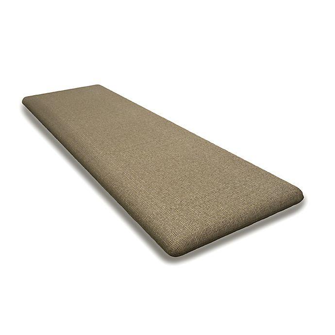 Polywood Outdoor Rockford 60 Inch Bench Cushion In Sunbrella