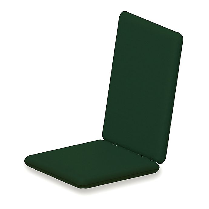 Alternate image 1 for POLYWOOD® Outdoor Full Chair Cushion in Sunbrella® Acrylic Forest Green