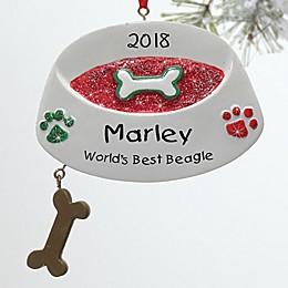 Top Dog Christmas Ornament