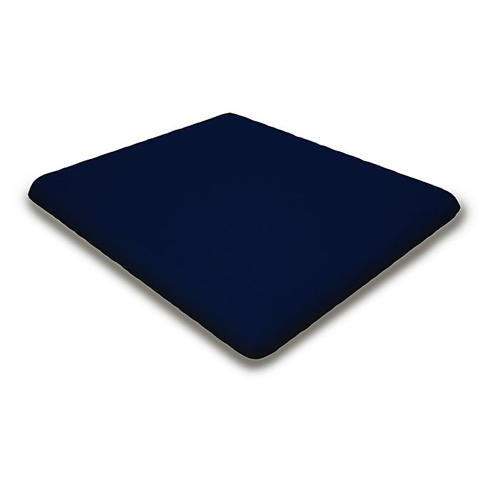 Alternate image 1 for POLYWOOD® Outdoor Classic Adirondack Ottoman Cushion in Navy