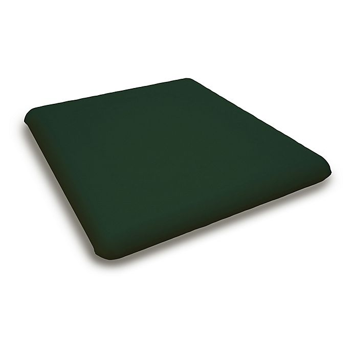 Alternate image 1 for POLYWOOD® Outdoor Replacement Adirondack Chair Cushion in Sunbrella® Acrylic Forest Green
