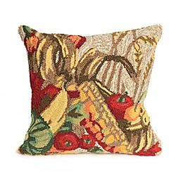 Liora Manne Frontporch Basket Square Indoor/Outdoor Throw Pillow